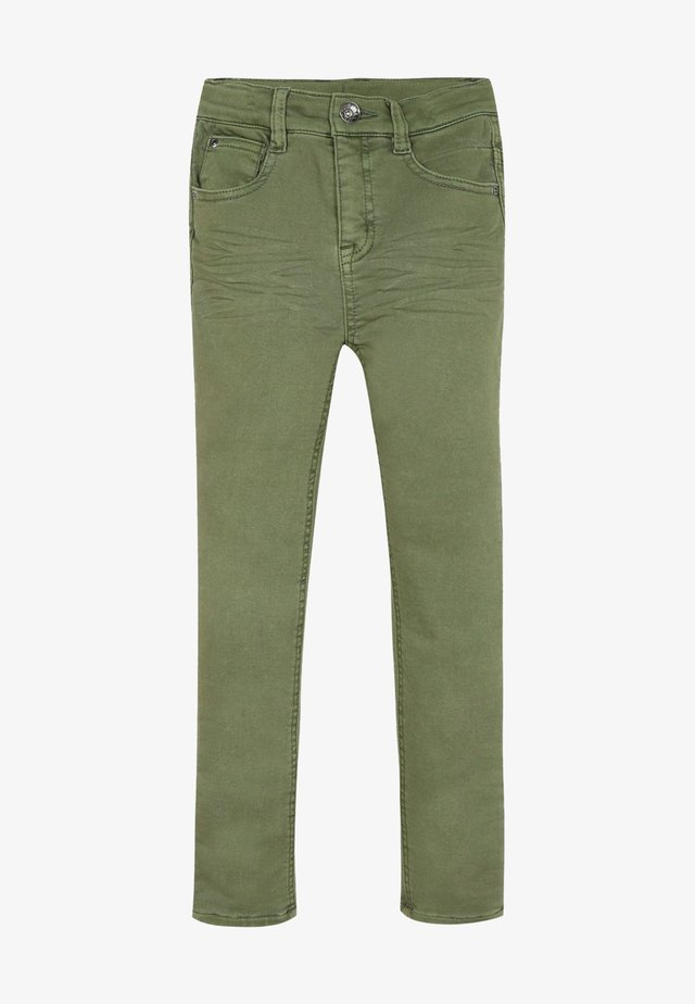 Vaqueros pitillo - kaki green