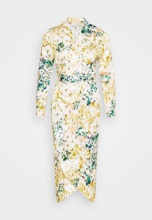 LONGSLEEVE DRESS - Korte jurk - green multi