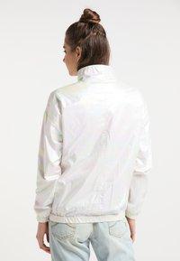 myMo - Waterproof jacket - white holographic - 2