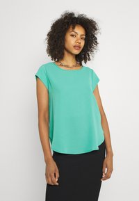 ONLY - ONLVIC S/S SOLID NOOS WVN - Blůza - sea green - 0