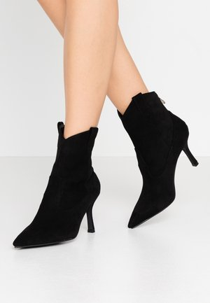 KAISON - High heeled ankle boots - black