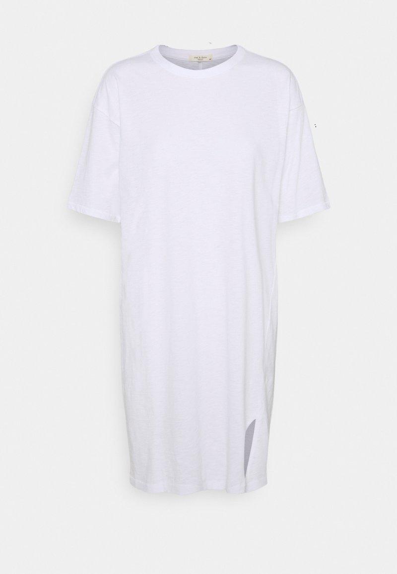 rag & bone - THE SLUB DRESS LABEL - Jersey dress - white