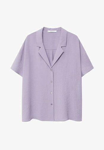 Button-down blouse - lilas