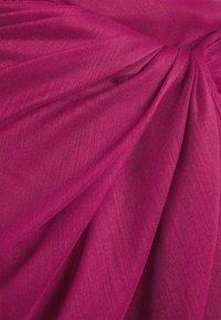 LASCANA - PAREO - Wrap skirt - dunkelbeere - 5