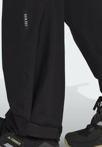 adidas Performance - W MT RAIN PANT - Bukse - black - 5