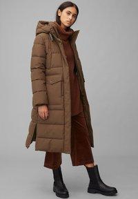 Marc O'Polo DENIM - ARCTIC EXPEDITION PUFFER COAT LONG - Winter coat - fantastic brown - 1