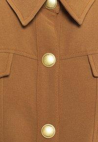 Pinko - GRAZIOSO CAMICIA FLUIDO - Button-down blouse - brown - 2