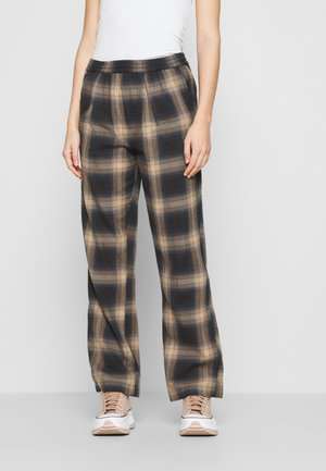 AVA PANT - Bukser - brown/multi