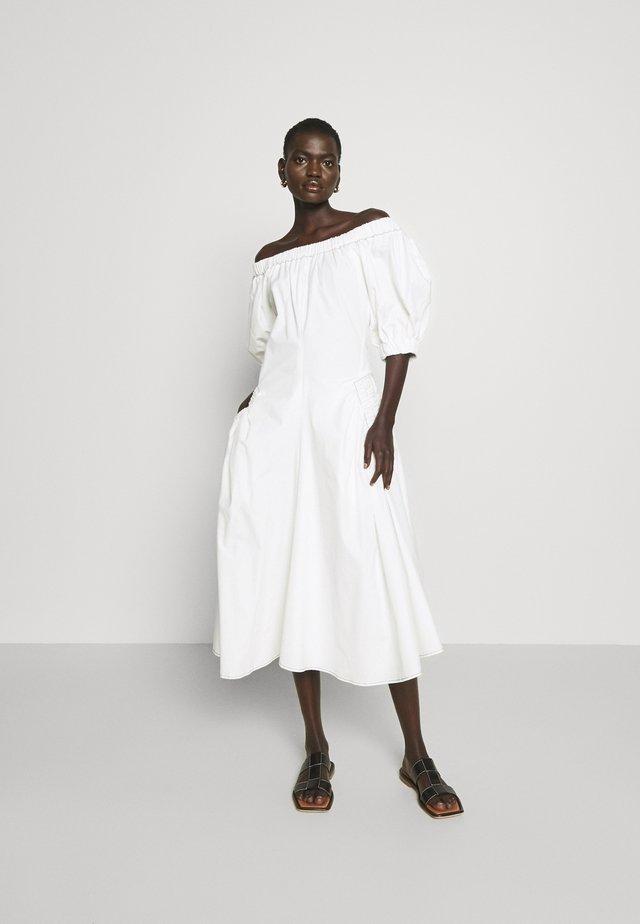 MAGGIE DRESS - Korte jurk - offwhite