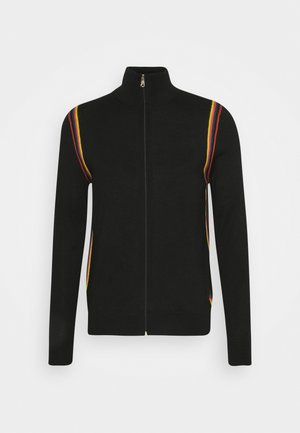 GENTS ZIP THRU - Cardigan - black