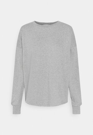 OPEN BACK - Sweatshirt - light grey marl