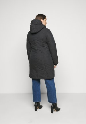 GORDON LONG PLUS - Winter coat - black