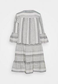 Vero Moda Tall - VMHAZEL DICHTE TUNIC - Day dress - snow white/night sky - 1