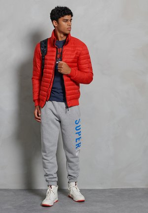 Winter jacket - high risk red