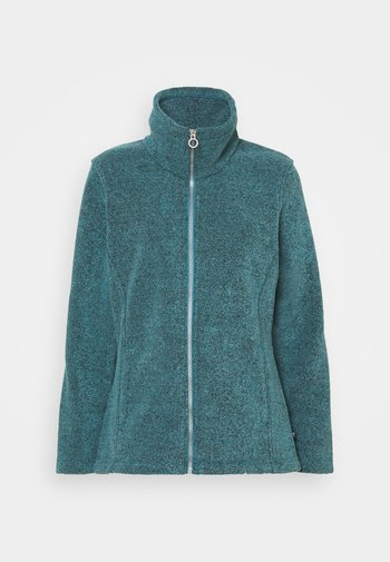 HELOISE - Giacca in pile - turquoise