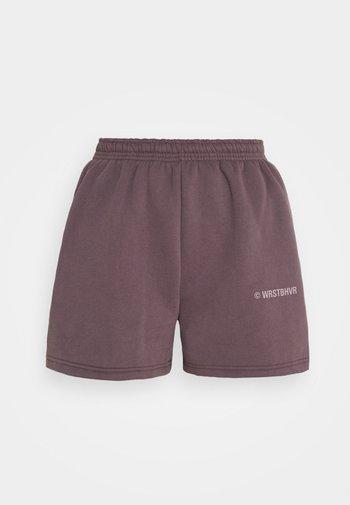 JUNE WOMEN - Shorts - plum grey