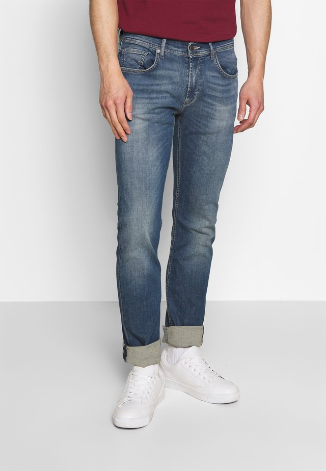 JACK - Jean slim - blue denim