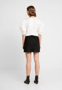 Cotton On - ANNABELLE MINI SKIRT - Miniskjørt - black - 2