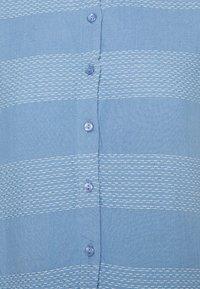 YAS Tall - YASLAMALI SHIRT DRESS - Day dress - silver lake blue - 2