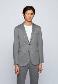 BOSS - Blazer jacket - silver - 0