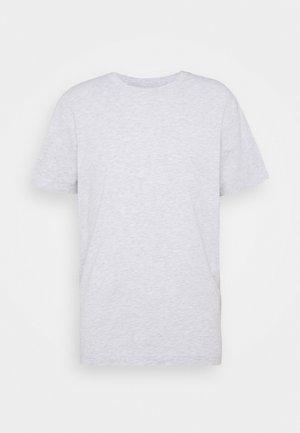 RELAXED  - T-shirts - grey melange