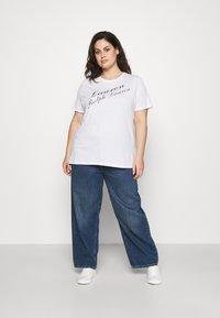 Lauren Ralph Lauren Woman - KATLIN SHORT SLEEVE - Print T-shirt - white - 1
