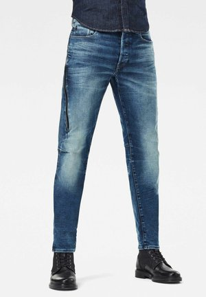 CITISHIELD 3D SLIM TAPERED - Slim fit jeans - faded clear sky wp
