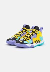 adidas Performance - HARDEN STEPBACK 2 BASKETBALL BOUNCE SHOES UNISEX - Basketball shoes - core black/team yellow - 1