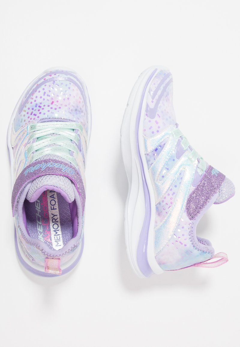 Skechers - DOUBLE DREAMS - Trainers - lavender/multicolor