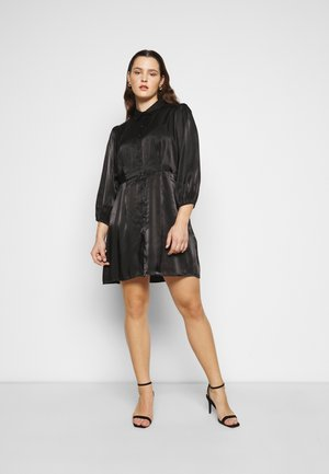 PCRAVENNA DRESS - Skjortekjole - black