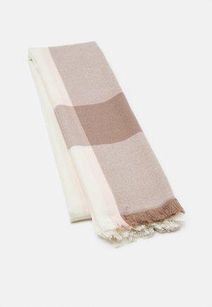 Écharpe - white/brown