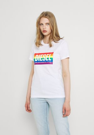 BFOWT-SILY-PR - Camiseta estampada - white