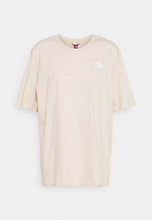 SIMPLE DOME - Basic T-shirt - pink tint