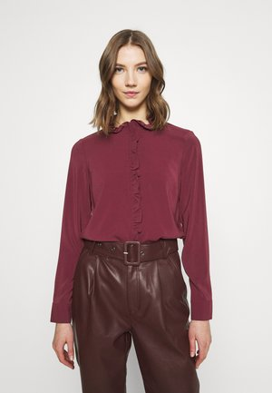 VMCOCO FRILL - Blouse - fig