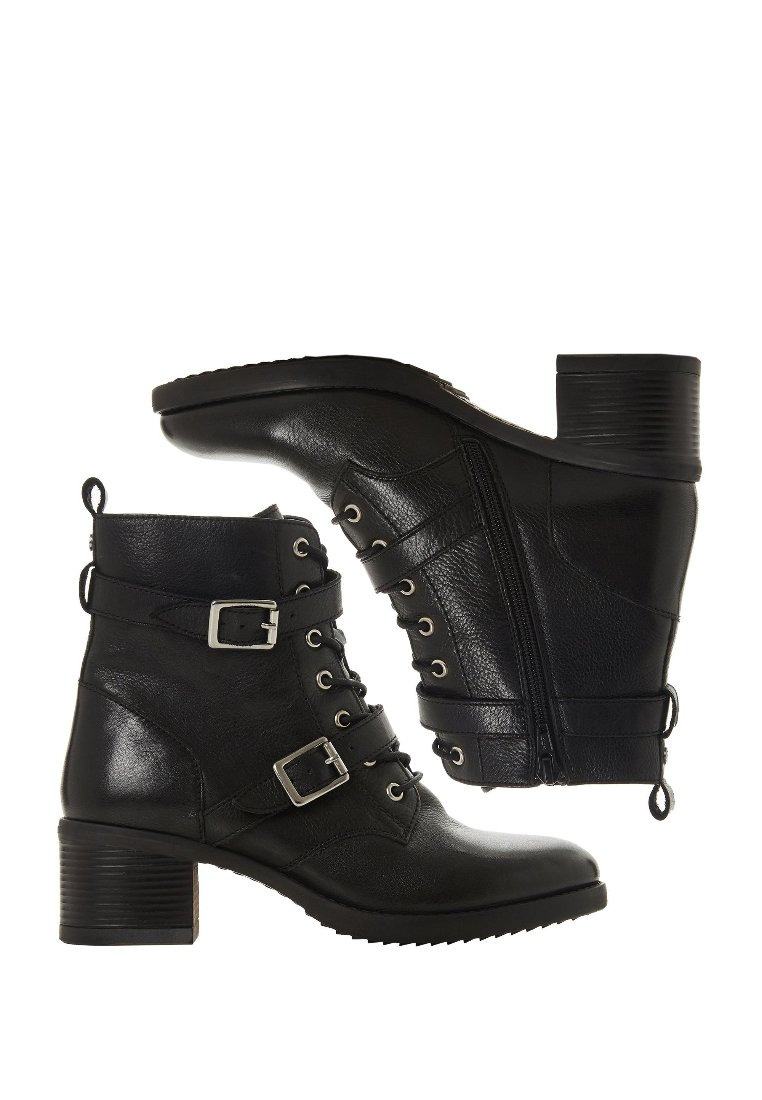 Fast Express Fast Delivery Women's Shoes Dune London Cowboy/biker ankle boot black XCeUj7R3G evBsS5MUD