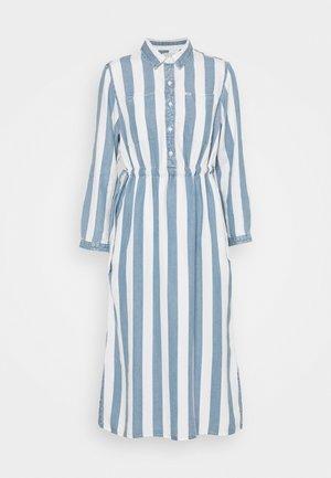 WORKER DRESS - Robe chemise - dawn blue