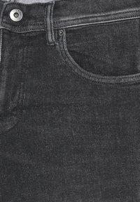 Esprit - Denim shorts - grey light wash - 2