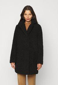 Noisy May Petite - NMGABI JACKET - Classic coat - black - 0