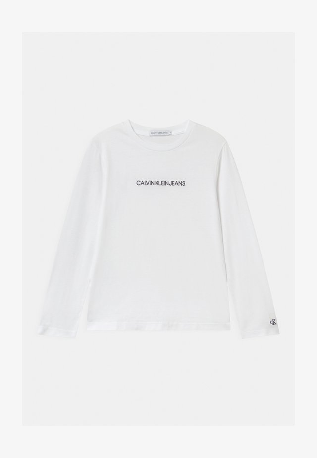 SMALL INSTITUTIONAL - Long sleeved top - white
