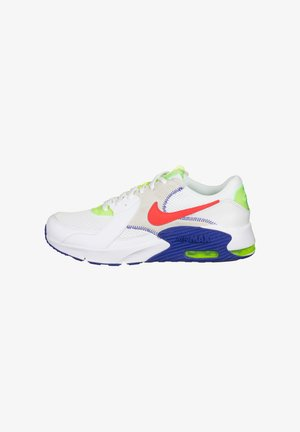 Sneaker low - white / bright crimson / indigo burst / volt
