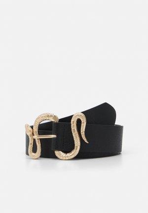 PCSNAKKIA WAIST BELT - Waist belt - black/gold-coloured