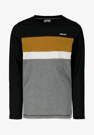 Camiseta de manga larga - off black