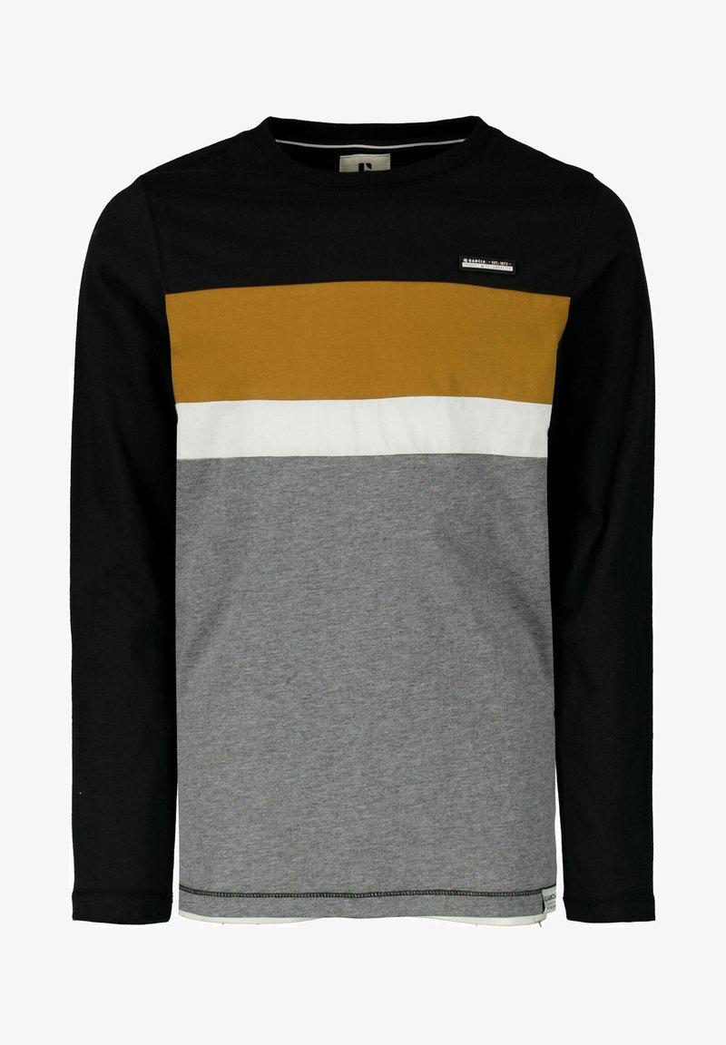 Garcia - Long sleeved top - off black