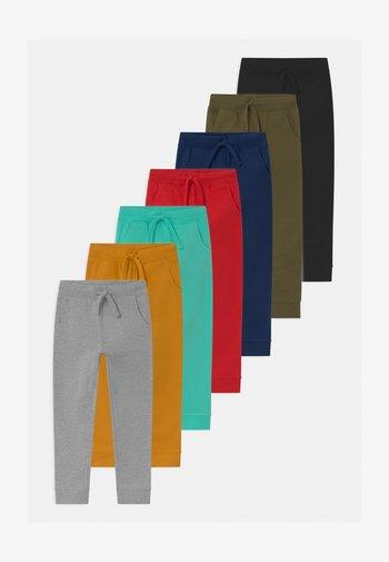 7 PACK UNISEX - Trainingsbroek - grey/ochre/ red