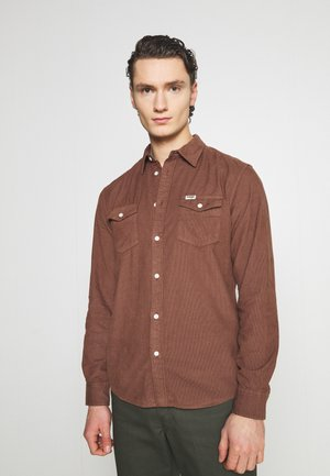 LS 2 POCKET FLAP SHIRT - Camicia - tortoise shell
