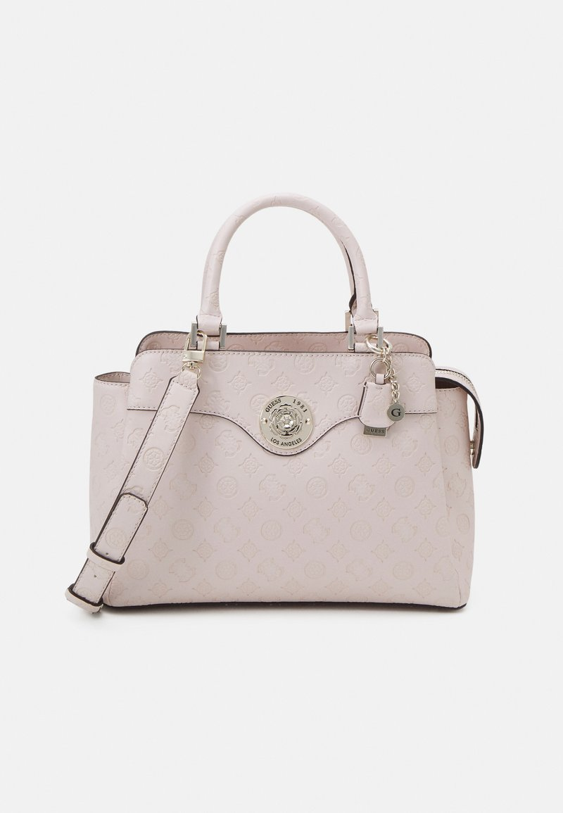 Guess - DAYANE TRIPLE SATCHEL - Handbag - blush