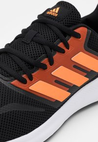 adidas Performance - RUNFALCON - Neutral running shoes - core black/signal orange/footwear white - 5