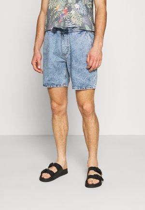 Shorts di jeans - blue light wash