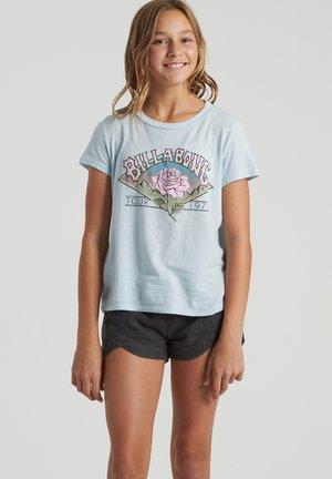 Camiseta básica - vista blue