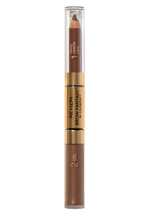 BROW FANTASY PENCIL AND GEL - Eyebrow pencil - N°105 brunette